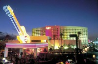 image of hard rock hotel in las vegas where you can take a free self-guided walking tour