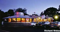image of the flying saucer restaurant one of the cheap places to eat in niagara falls ontario
